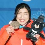 村岡桃佳が銅獲得、立て直して2個目のメダル
