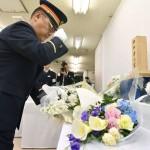 地下鉄サリン事件から23年、駅員ら犠牲者追悼