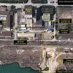 北朝鮮・寧辺にある黒鉛減速炉の施設