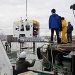 海中ロボ「ツナサンド2」、自分で発見生物回収
