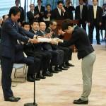 安倍首相「東京五輪の大成功につなげて」