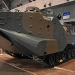 陸上自衛隊から今回も特殊車両が出展