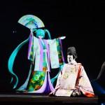 超歌舞伎「積思花顔競」(つもるおもいはなのかおみせ)。今年はテーマが恩返し、悲恋という昨年とは違った趣の内容だ