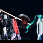 今回の超歌舞伎では中村獅童氏は主役の「良岑安貞」以外に悪役「惟喬親王」を演じる。圧倒的なカリスマを引っさげ舞台に帰って来た