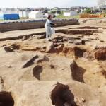 国内最古、奈良時代前半の獣脚鋳型を発見