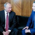 クルツ氏とプーチン氏
