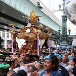 日枝神社の山王祭、心意気示す下町連合渡御