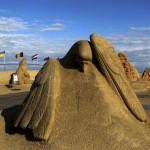 今年のテーマは動物、砂の美しさを感じて