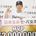交流戦MVPにオリックスの吉田正尚外野手