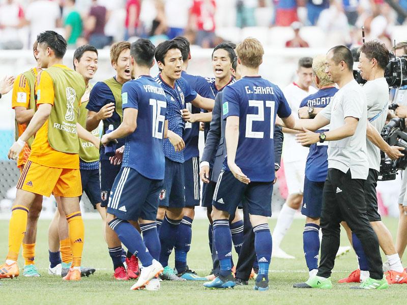 日本、決勝トーナメント進出を果たす