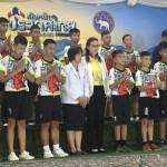 タイ洞窟で遭難の少年ら「救出は奇跡だった」