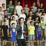 歌「茜空」が完成、大阪府箕面市の子供ら合唱