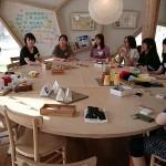 休学して広田町に来ているメンバーが、自分の大好きな羊毛フェルトワークショップを開催