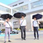 熱中症予防に「男性も日傘で涼を」人気じわり