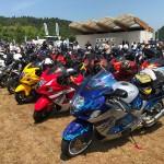 全国から2500人とバイク2000台が「聖地」に集結