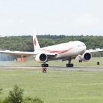 新政府専用機「777-300ER」型機がお目見え