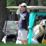「ナイスショット」の声、安倍首相がゴルフ