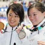 鈴木聡美が金第1号、アジア大会女子平100で