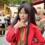 Fateシリーズの「遠坂凛」のコスプレ