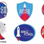 宇宙軍のロゴ候補