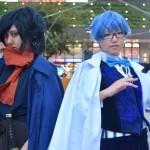 Fateシリーズより「岡田以蔵」と「アンデルセン」のコスプレ