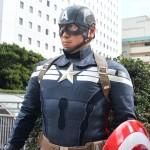 キャプテン・アメリカのコスプレ