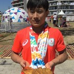北園丈琉、「美しい体操」を受け継ぐ15歳