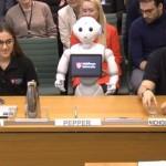 人型ロボット「ペッパー」、英議会デビュー