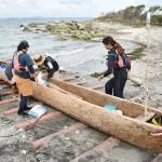 国立科学博物館、「3万年前の航海」を再現