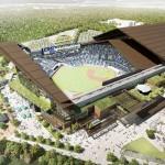 日本ハムの新球場は開閉式屋根で天然芝の球場