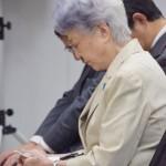 横田早紀江さん、夫の看病と救出を訴える活動