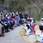 「サムルノリ」の演奏で日韓友好イベント行う