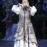 「ホムス」(口琴)の名手ユリヤナ・クリヴォシャープキナさん(ロシア連邦サハ共和国)