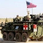 米軍の装甲車