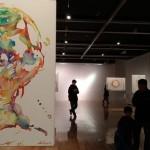 女性アーティスト、ダプッツォさんの展覧会