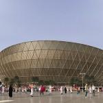 22年W杯サッカー決勝会場のデザインを公表