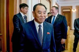 金英哲朝鮮労働党副委員長