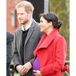 英ヘンリー英王子夫妻の第1子、4月か5月に