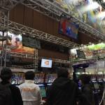 バンダイナムコゲームスブース。今年もこのブースは盛況となった