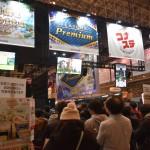 KONAMIブースでは話題の「ボンバーガール」の大会が開催