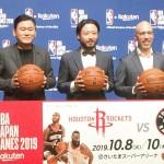 NBAが日本で試合、日本バスケの質の向上へ