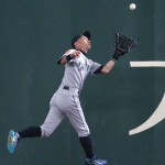 MLB日本開幕戦、イチローが守備で魅了
