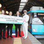 日本初、世田谷線で再エネ100%の列車を運行