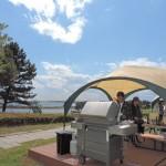 カフェやバーベキューなど3施設がオープン