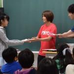 子供たちが五輪競技で算数を楽しく学ぶ