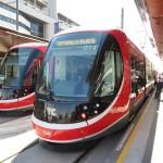 「出発進行!」、次世代型の路面電車「LRT」