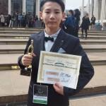 福島県いわき市の佐藤可惟君12歳がNYで2位