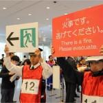 「やさしい日本語」で、全国に先駆け避難訓練
