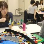 レゴブロック研修で相互理解を深める