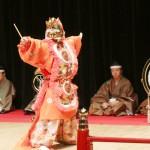 天皇陛下の御即位を祝い、宮廷雅楽を披露